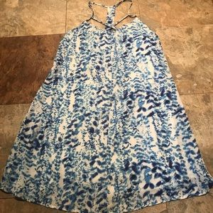 Charlotte Russe Dress Strappy Blue XS